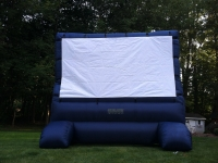 Back Yard Movie Screen