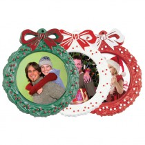 Photo Wreath Ornaments
