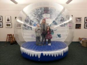 Inflatable Human Sno Globe