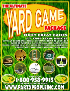 Yard Game Package details