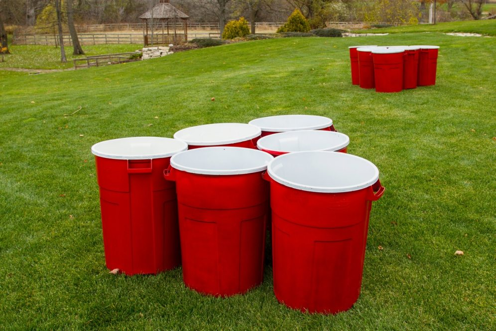 Giant Bucket Pong